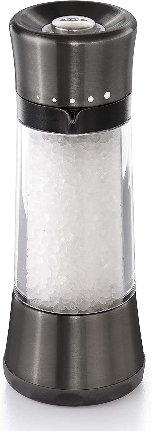 OXO Good National Challenge the lowest price of Japan uniform free shipping Grip Sleek Salt Adjustable with Mill Grind