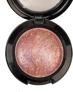 Mallofusa Single Baked Eye Shadow Powder Palette in Shimmer 15 Metallic Colors Optional (Night Rose)
