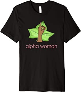 Alpha Woman - AKA Shirts - AKA Paraphernalia - 1908 Premium T-Shirt