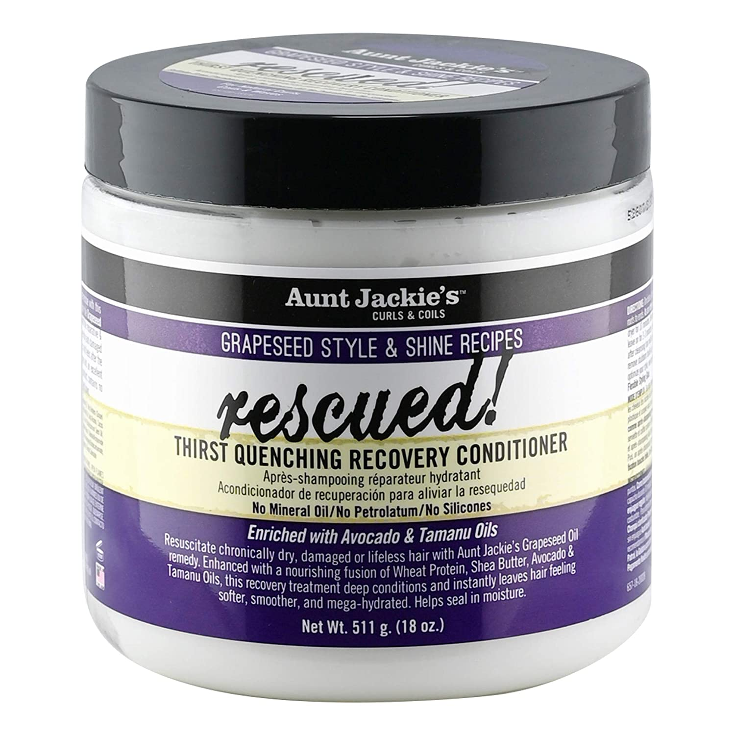 Aunt 100% quality warranty Jackie's Grapeseed Challenge the lowest price of Japan ☆ Style and Shine Thirst Q Rescued Recipes
