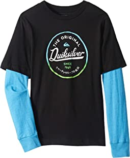 Japan Circle Tech Long Sleeve Tee (Toddler/Little Kids)