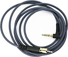 NewFantasia Replacement Audio Cable Compatible with Sennheiser Game ONE, Game Zero, PC 373D, GSP 350, GSP 500, GSP 600 Gaming Headsets 1.3m/4.3ft