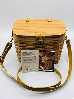 Longaberger Small Saddlebrook Purse Basket with Protector