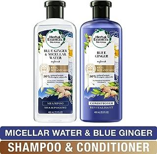 Herbal Essences, Shampoo and Paraben Free Conditioner Kit, BioRenew Micellar Water & Blue Ginger, 13.5 fl oz, Kit