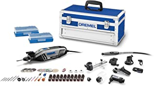 Dremel 4300-9/64 Rotary Tool Kit with Flex Shaft- 9 Attachments & 64 Accessories-..