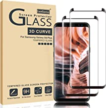 LasGame Samsung Galaxy S8 Plus Screen Protector, [2 Pack] 9H Hardness Anti-Scratch Full Coverage Tempered Glass Screen Protector Film for Samsung Galaxy S8 Plus