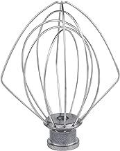 K45WW Wire Whip Attachment for Tilt-Head Stand Mixer for KitchenAid, Stainless Steel Egg Cream Stirrer, Flour Cake Balloon Whisk