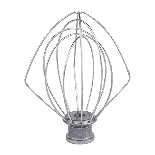 PAKIMARK K45WW Wire Whip for Tilt-Head Stand Mixer for KitchenAid, Stainless Steel Egg