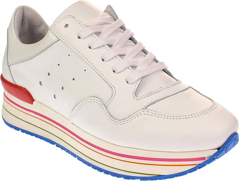Tango MARIKE 12-E - Damen Schuhe Plateau-Turnschuhe - Weiß-Multi-Colour