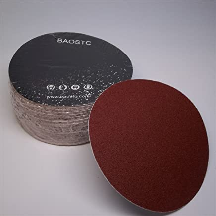 BAOSTC delta velco sanding pad 3 3//4x3 3//4 6 holes Assorted 60-80-120-180-240,50PACK