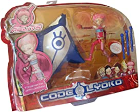 """Code Lyoko - AELITA (Virtual) with wings & Manta with projectiles - 5"""" articulated figure"""