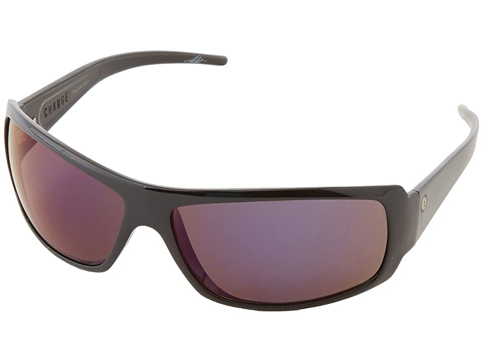 Electric Eyewear Charge Polarized (Gloss Black/M2 Blue Polar) Sport Sunglasses