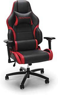 RESPAWN-400 Racing Style Gaming Chair - Big and Tall Leather Chair, Office or Gaming Chair Red (RSP-400)