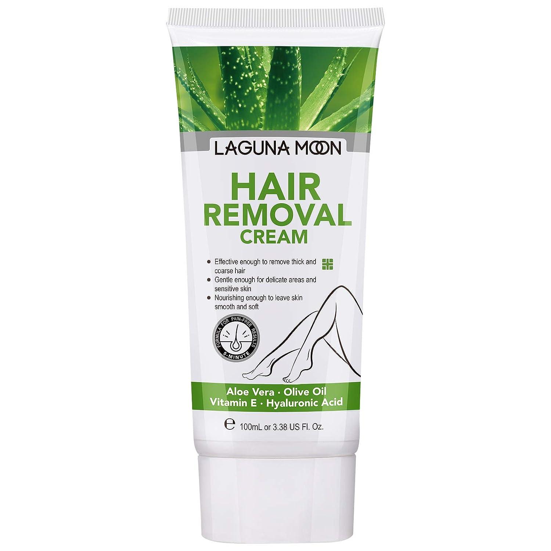 LAGUNAMOON Hair Removal Cream Ranking El Paso Mall TOP4 Super C Safe and Gentle Depilatory