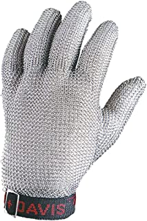 Honeywell Whiting + Davis 5-Finger Metal Mesh Cut-Resistant Gloves, Small (RWS-57007)