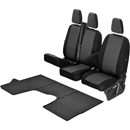 Passgenaue Sitzbezüge Hero Und Gummifußmatten Kompatibel Mit Toyota Proace Ab 2017 Ein Set Auto