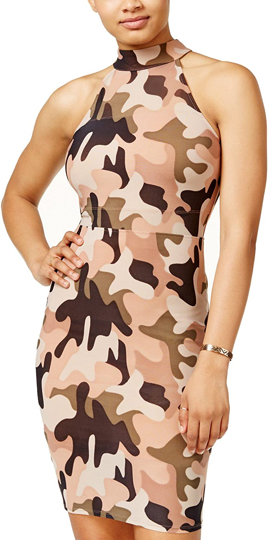 Material Girl MockNeck Bodycon Dress