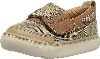 Step & Stride Gallas-P Baby Boy's Adjustable Boat Shoe