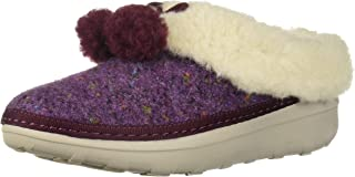 FitFlop Women's Loaff Snug Pom Slipper