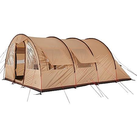 Tunnelzelt Zelt f/ür 3 Personen eingen/ähte Bodenwanne gro/ßer Wohnbereich Leichter Aufbau Grand Canyon Helena 3 Familienzelt teilbare Schlafkabine viele Stauraum Camping