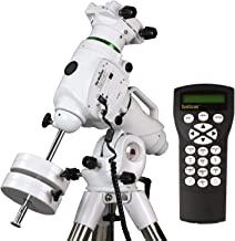 EQ6-R – Fully Computerized GoTo German Equatorial Telescope Mount – Belt-Driven, Motorized, Computerized Hand Controller with 42,900+ Celestial Object Database – Astrophotography EQ Mount