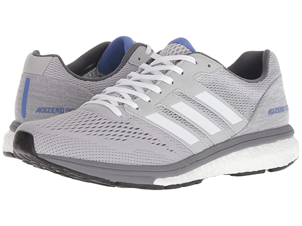 Image of adidas Running adiZero Boston 7 (Grey Two/White/Grey Four) Women's Shoes