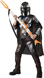 Rubie's Official Disney Star Wars The Mandalorian Kids Costume, Childs Fancy Dress, Size Large Age 10-12 Years, Height 137...