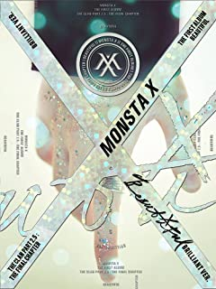 MONSTA X - BEAUTIFUL (Vol.1) – Brilliant [MV Making Ver.] CD+Post Photo+Photocard+2 Official Folded Posters+Extra Photocard Set