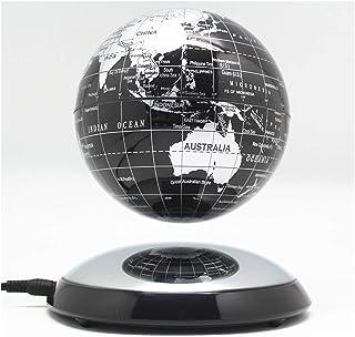 JINSUO 6 Inch Creative Magnetic Levitation Floating Globe World Map the Best Desktop Decor Christmas Company anniversary g...