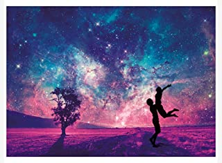 Large Wooden Jigsaw Puzzles 1000 Pieces Imagination Series Fantasy Romantic Star Sea Puzzles Toys for Adult and Teen Best ...