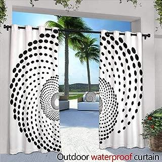 Lightly Patio Curtains,Sonic The Hedgehog,W72 x L96 Outdoor Curtain Waterproof Rustproof Grommet Drape
