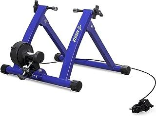 AKONZA Magnet Steel Bike Bicycle Indoor Exercise Trainer Stand Black/Blue