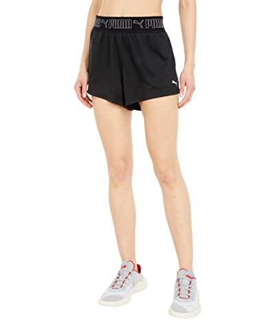 PUMA 3 Train Elastic Shorts (PUMA Black) Women