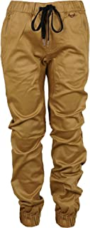 Kayden K Youth Jogger Fit Stertch Twill Elastic Waist and Cuff Drop Crotch Pants (Runs Small)