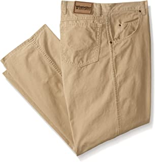 Wrangler Men's big Rugged Wear Big Relaxed Fit Straight Leg Canvas Pant