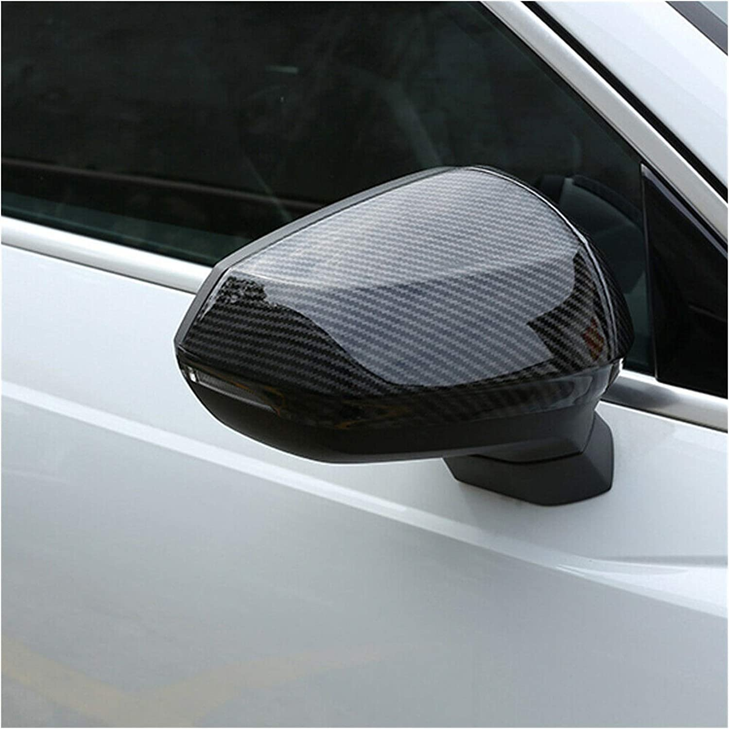 KKLL 1 year warranty Side Mirror Cover Fit for Carbon New York Mall 2018 Audi Q2L Q3 2019