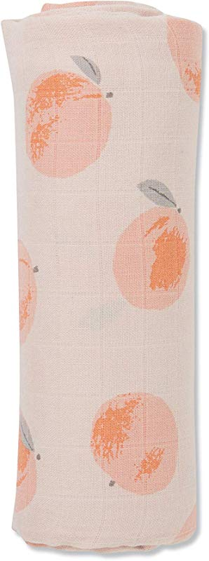 Angel Dear Luxurious Soft Swaddle Baby Blanket Peachy Large 47x47
