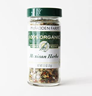 Sponsored Ad - McFadden Farm Organic Mexican Herbs, Seasoning Blend, Grown and packed in the U.S.A., 1.1 oz in glass jar