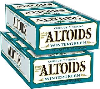 ALTOIDS Wintergreen Mints Singles Size 1.76 ounce 12-Count Box