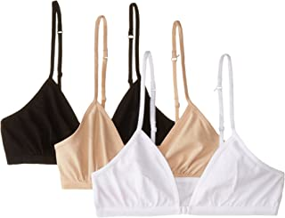 Fruit of the Loom Big Girls' CottonConvertible Bralette(Pack of 3)