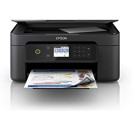 Epson Expression Home XP-4100 Stampante 3-in-1, Stampa Fronte/Retro in A4, Display LCD 6.1 cm, Stampa da Dispositivi Mobili, Wi-Fi e Wi-Fi Direct, Cartucce Separate, Nero