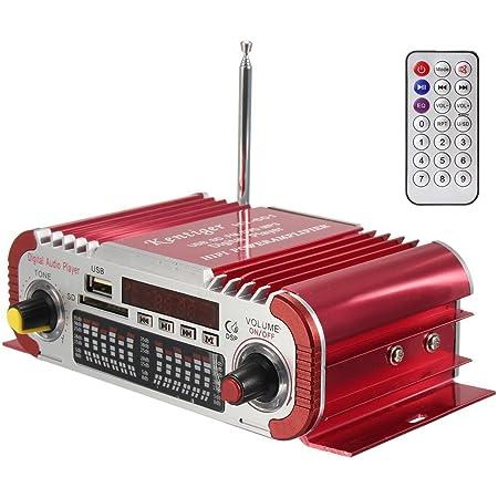 Sumbay Mini Stereo Audio Endstufe Hifi Verstärker Elektronik