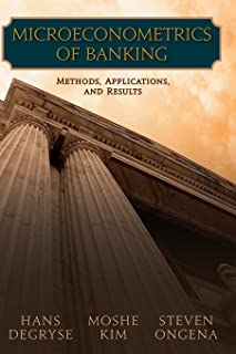 Microeconometrics of Banking: Methods, Applications, and Results
