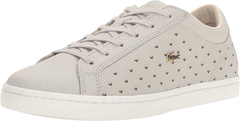 Lacoste Womens Straightset 117 3 Fashion Sneaker Fashion Sneaker