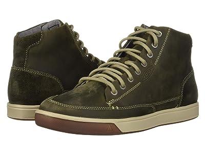 Keen Glenhaven Sneaker Mid (Dark Olive/Black Olive) Men