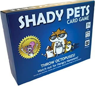 Shady Pets Card Game - Family-Friendly Party Games - Card Games for Adults, Teens & Kids