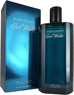 Cool Water by Davidoff for Men - Eau de Toilette, 200ml
