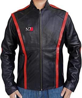 Best mass effect faux leather jacket Reviews
