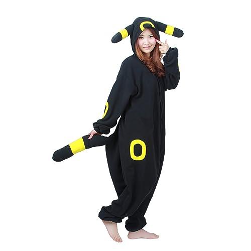 3eace1eac652 NOL Adult Unisex Onesie Costume Pyjamas Umbreon Cosplay Costumes