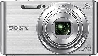 Sony DSC-W830 - Cámara compacta de 20.1 Mp (pantalla de 2.7 zoom óptico 8x estabilizador óptico) plata